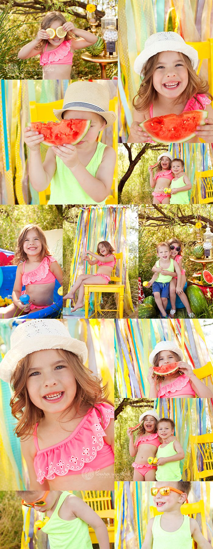 Summer Watermelon + Lemon Mini Sessions // Scottsdale Sibling Photographer » Phoenix, Scottsdale, Chandler, Gilbert Maternity, Newborn, Child, Family and Senior Photographer  Laura Winslow Photography {phoenix's modern photographer}