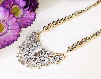 Beautiful luxurious statement necklace