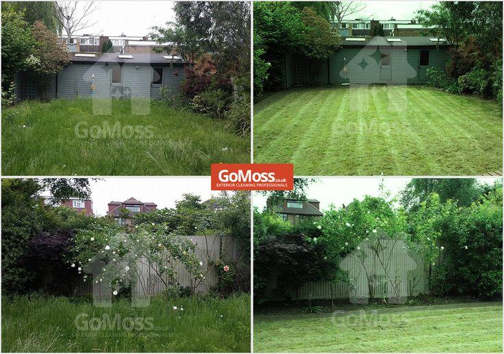 Lawn mowing service by Gomoss, Buckinghamshire