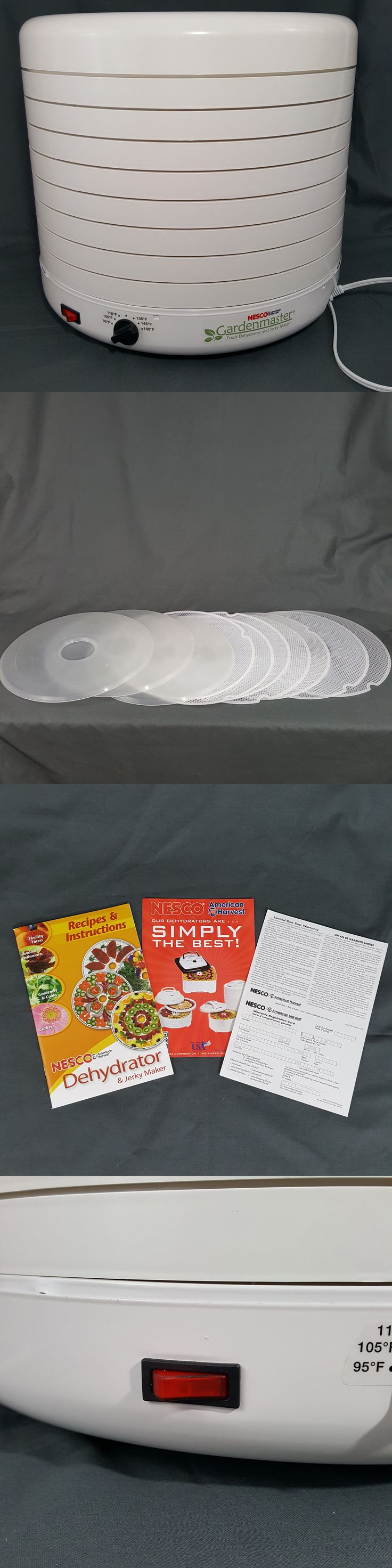 Food Dehydrators 32883: Nesco Fd-1010 Gardenmaster Food Dehydrator 8 Trays 1000-Watt 2400 Rpm Fan New! -> BUY IT NOW ONLY: $139.99 on eBay!