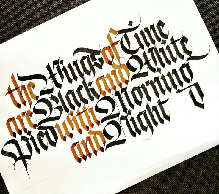 Best images about calligraphy blackletter gothic on