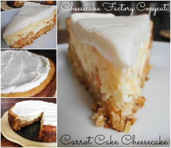 Carrot Cake Cheesecake Is Beyond Delicious | The WHOot