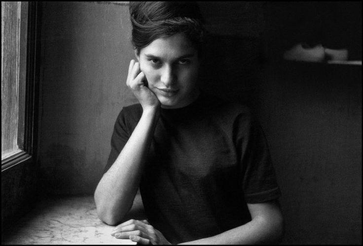 ITALY, Sicily, Bagheria: Portrait Tanina VISCONTI. (c) Ferdinando Scianna/Magnum Photos