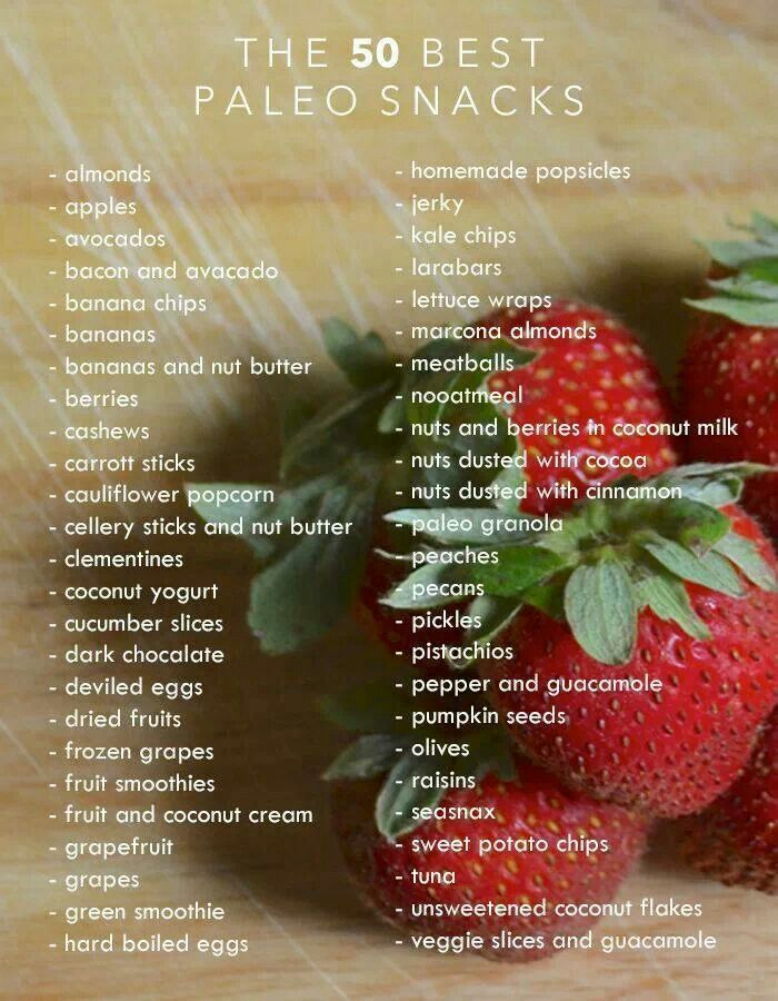 Paleo snacks | Good-for-you-food | Pinterest