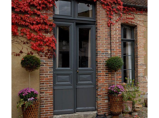 Les 25 meilleures id es de la cat gorie portes d 39 entr e rouges sur pinterest maison porte for Oeil de porte d entree