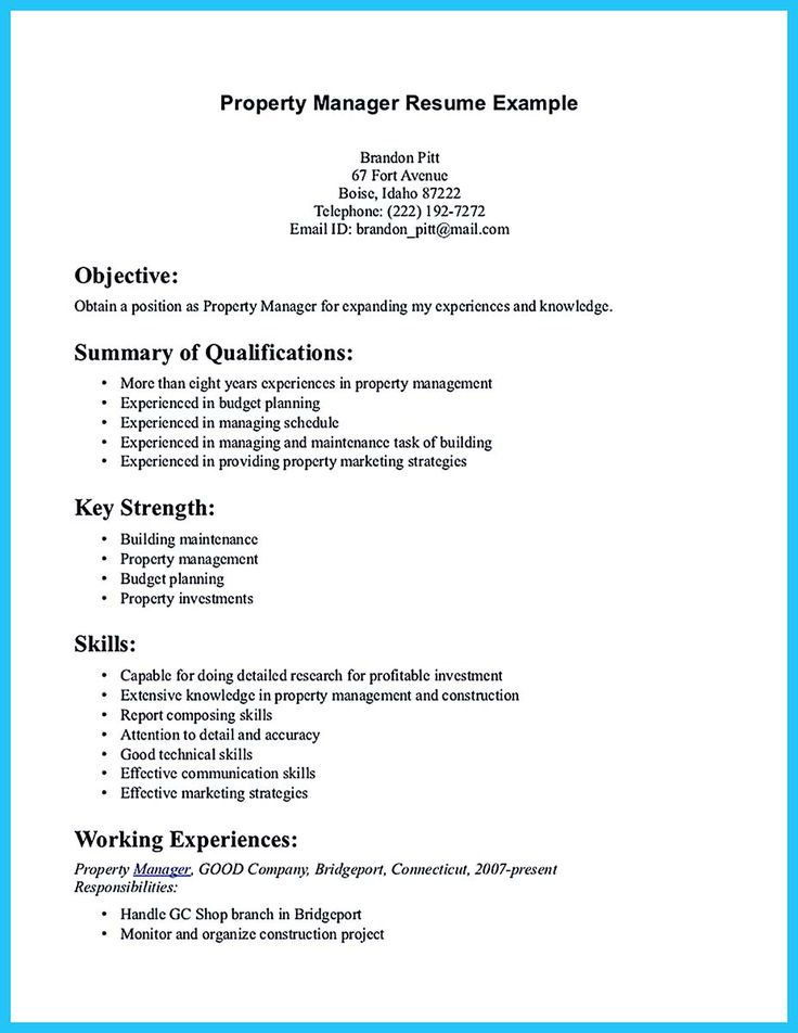 If you want to propose a job in land property, you should make a suitable resume. If you want to be an apartment manager you need to write a professio... apartment manager resume template