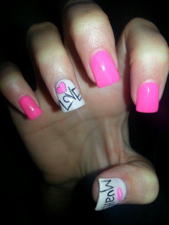 Valentine nails Valentine Nails Find us on: www.facebook.com/NeoNailPL