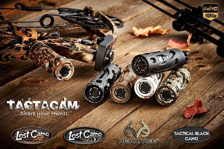 Bow stabilizer camera, video tape yourself hunting and share with your friends!  This is a great gift for bow hunters or rifle hunters.  Available at www.tactacam.com or your local bow shop.