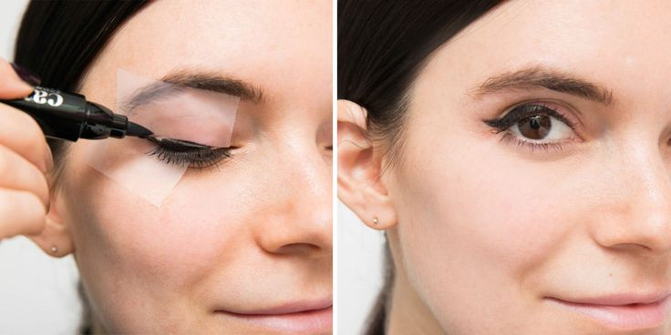 Make a less pigmented eye shadow more vibrant by covering your eyelid with a white eyeliner first.