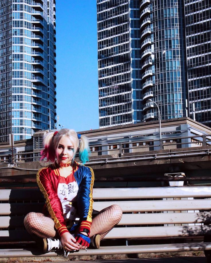 I loved this location! #harleyquinn #photoshoot #suicidesquad