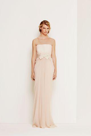 Abito sposa modello Narciso max mara 2014
