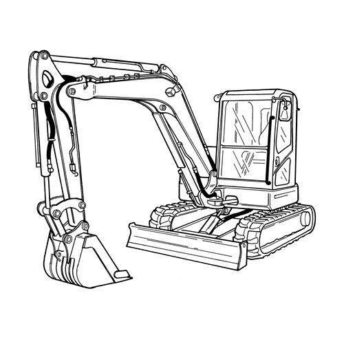 Pin By Cat Excavator Service On Bobcat Service Repair Manual