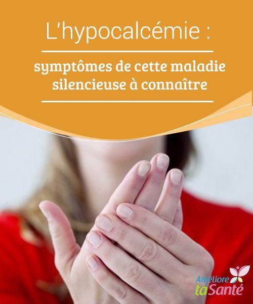 L'hypocalcémie : #symptômes de cette maladie silencieuse à connaître   L'#hypocalcémie est une maladie qui affecte particulièrement les femmes. Cette #affection a pour origine un #déficit de calcium dans le sang et provoque beaucoup plus symptômes que l'ostéoporose. Le fourmillement dans les bras et dans les jambes, les difficultés dans la concentration, la douleur #musculaire ou même le fait d'avoir des palpitations sont d'autres indicateurs
