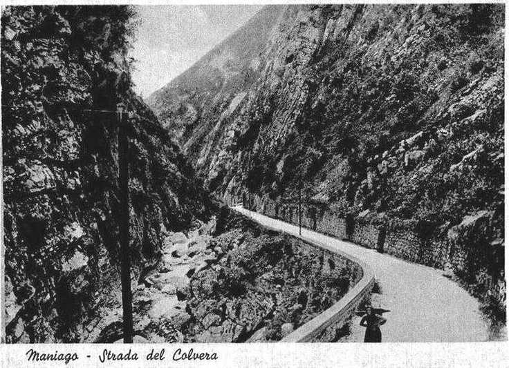 The old road, Val Colvera
