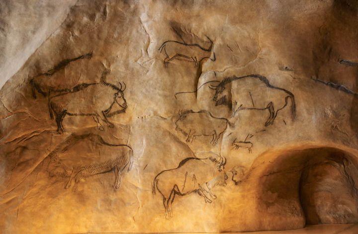 Reconstitution de la Grotte de Niaux, Parc de la Préhistoire - Tarascon (Ariège)