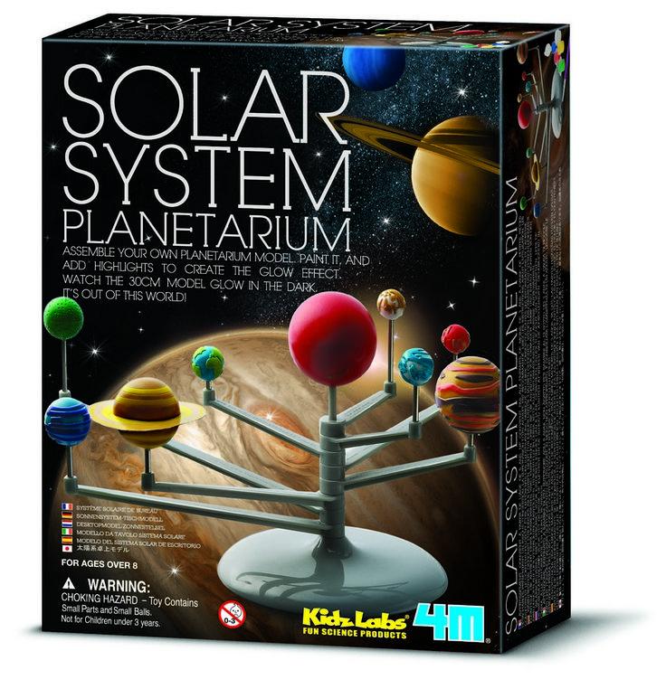 Set+pro+výrobu+pohyblivého+modelu+Sluneční+soustavy,+svítící+ve+tmě.  Milujete+vesmír+a+planety?+Pak+toto+je+hračka,+která+potěší+svou+názorností+a+poslouží+jako+učební+pomůcka+i+hezk...