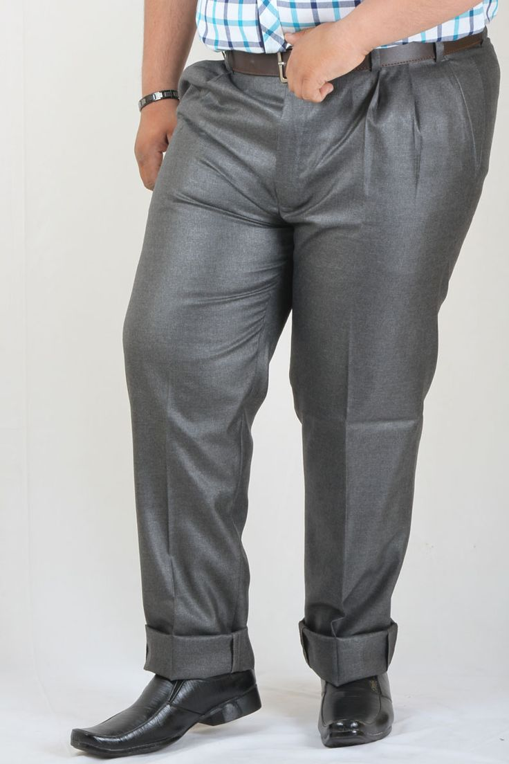 http://tinyurl.com/zpjbypz Buy Online Branded DMARK Grey Polyester Cotton Trousers at GetAbhi.com