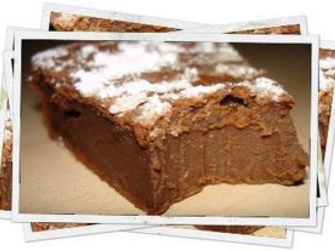 Ein Rezept mit einer Textur von verrückt, ein Geschmack zu stark in Schokolade … es ist tr …   – Gateau