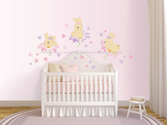 Wall decals Girls Wall decals Wall stickers Baby Nursery