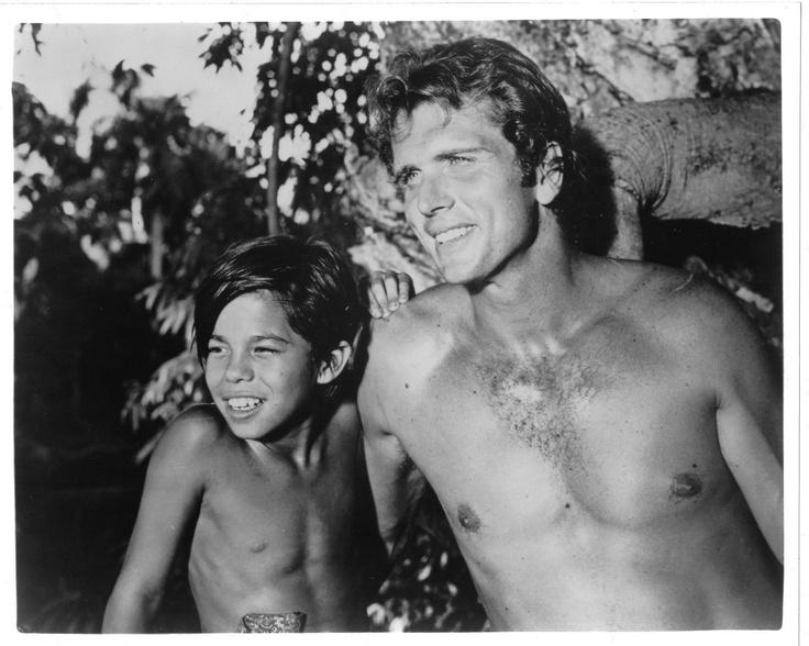 Tarzan tv series black and white