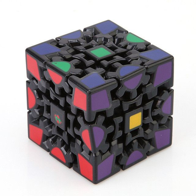 GEAR CUBE PUZZLE