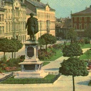 Sopron. Széchenyi tér
