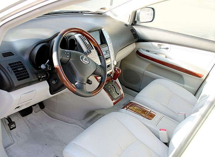 2004 lexus rx330 silver interior - Google Search
