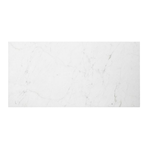 Style Selections 12in x 24in Futuro White Porcelain