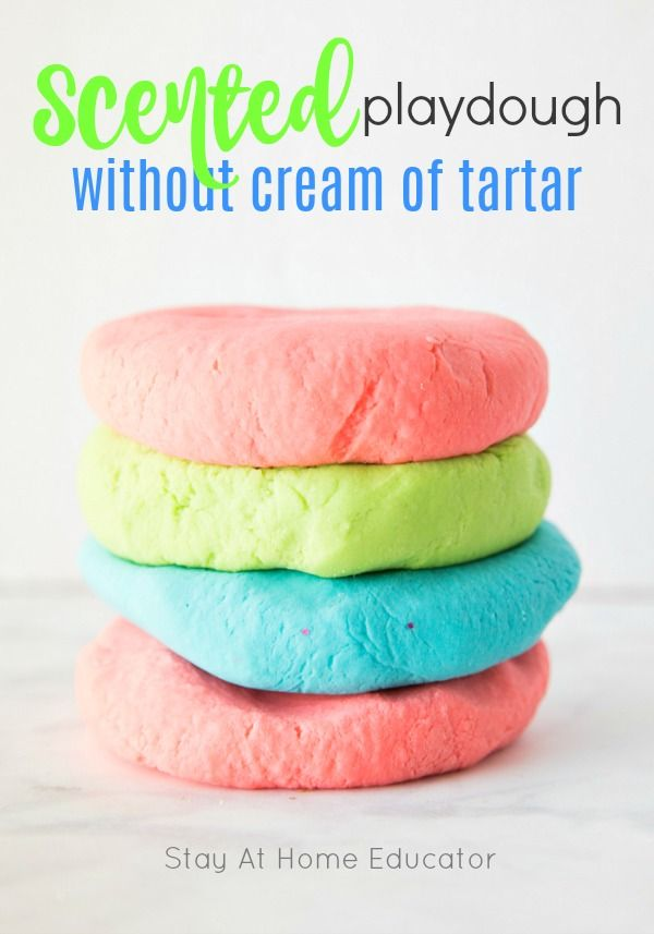How to make playdough at home without cream of tartar