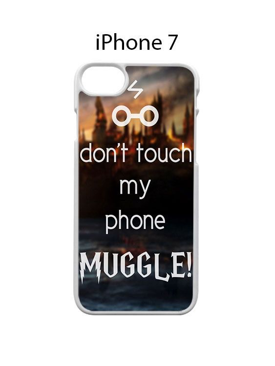 Harry Potter Dont Touch my Phone iPhone 7 Case Cover