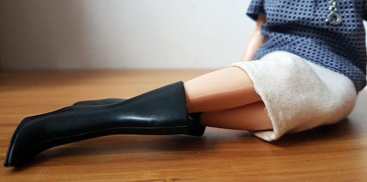 Tall Boots  #WinterFashion #Boots #BarbieStyle #BarbieFashion #OOAKBarbie #Plasticallyperfect #BarbieOOTD #OOTD