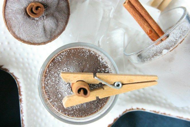 Chocolate & avocado popsicles / Čokoládové nanuky s avokádem