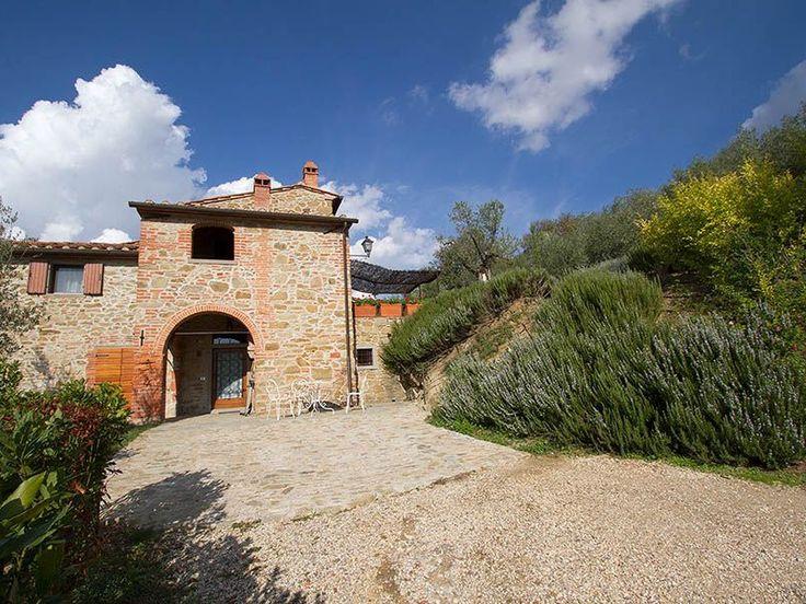 AREZZO VILLA Villa Tarlati für bis zu 8 Personen