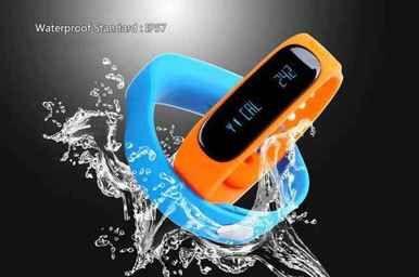 Smart water resistant Health Bracelet