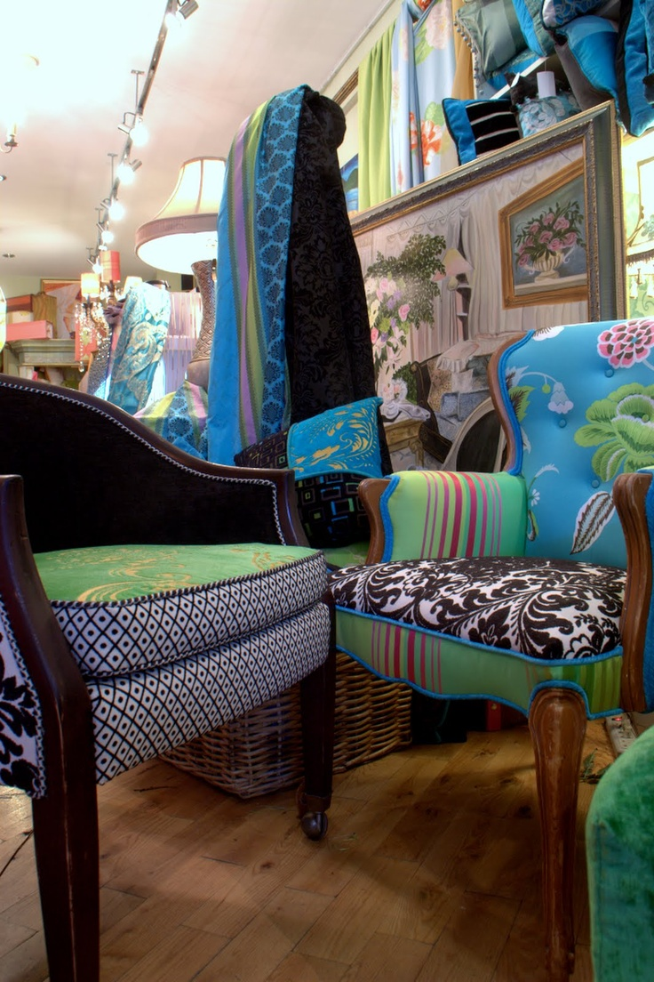 My Bohemian Style. This Upholstered Vintage Chair Sold For 1500.00. You Can  Order A