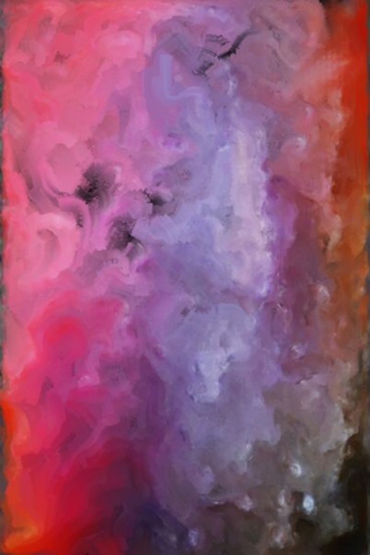 I am still in love with the ghost of you (2009)  Wet Acrylic/ 24x36  #abstractexpressionism #atmosphere