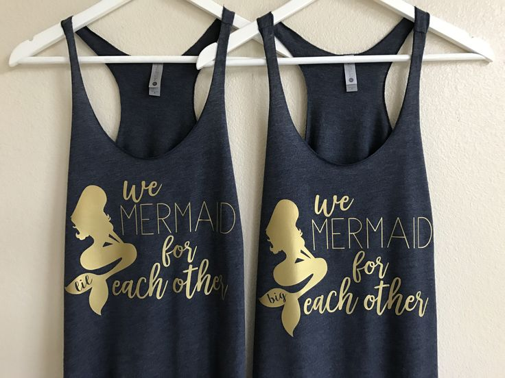 We mermaid for each other, big little sorority shirts, big little shirts, big lil shirts, big little reveal, big and little gifts, big little tanks, sorority shirts, big little gbig family shirts, big little sorority shirts