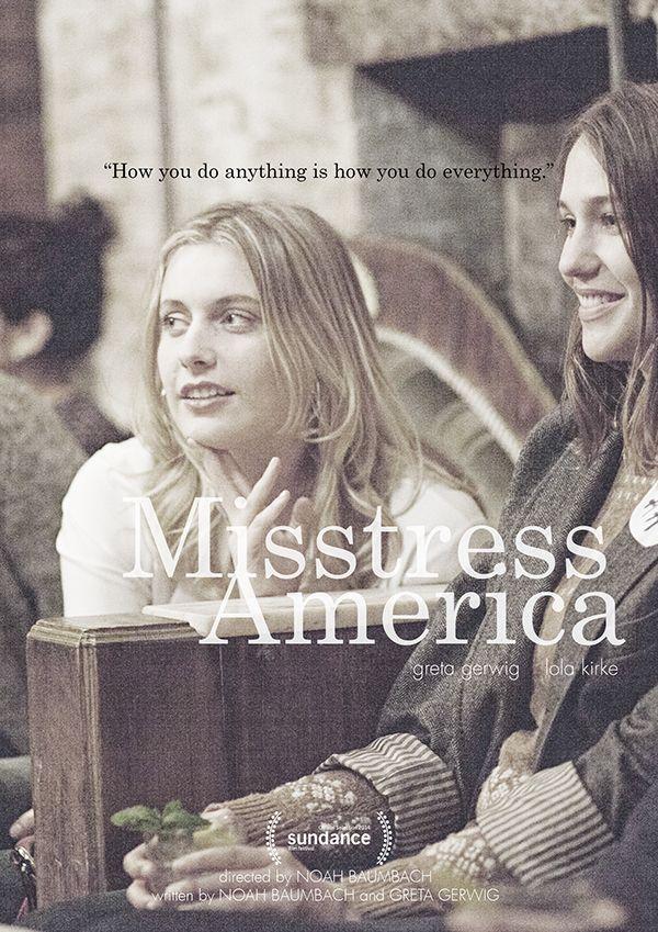 Mistress America  Movie Poster by Jane Lee