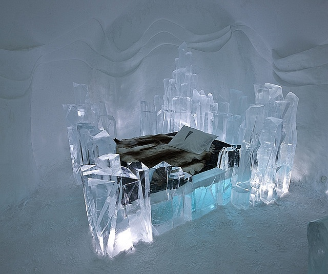 Luxurious suite at IceHotel, Sweden | Finland/Sweden ...