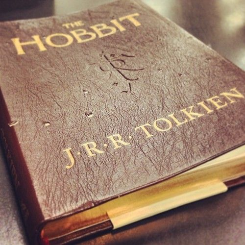 The Hobbit, J.R.R. Tolkien // I've seen this version at Meijer! It's gorgeous. I want it. Don't NEED it, but want it.