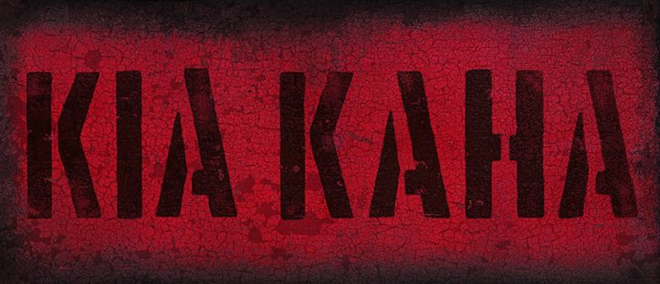 Kia Kaha - Stay Strong... Red Ink Design