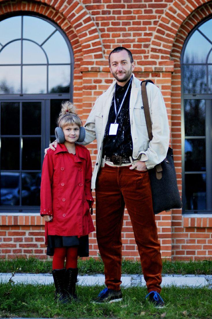 Weronika, 10, Krzysztof, 41 - ŁÓDŹ LOOKS www.facebook.com/lodzlooks #fashionweekpoland #fashionphilosophy #lodz #lodzlooks #fashionweek