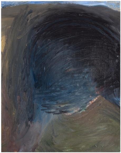 Elina Merenmies   _Le Crépuscule, 2011  oil on canvas, 58,5 x 45 cm