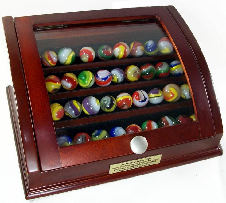 glass marbles curved glass marble display chest and