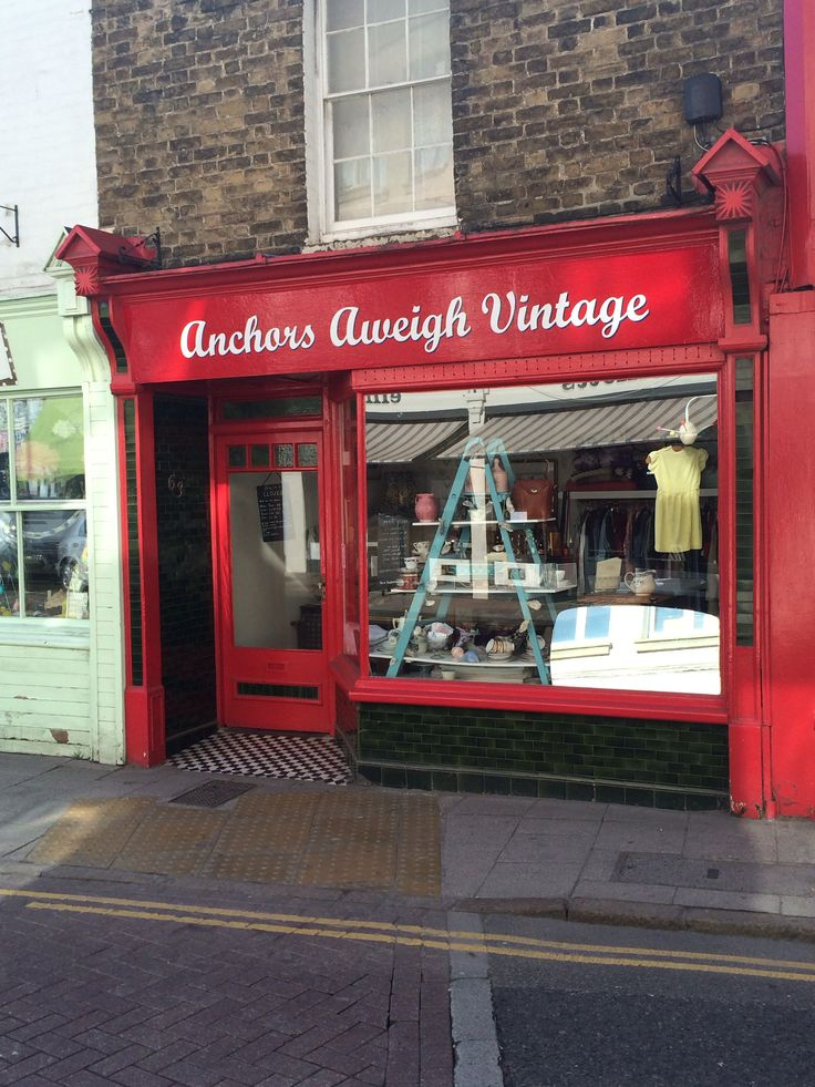 Anchors Aweigh, Whitstable #vintage