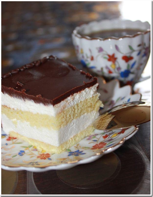 """Торт """"Птичье молоко"""" классический вариант"""