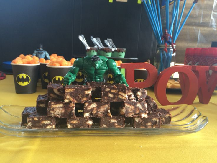 Hulk smashing the cookie-fudge wall