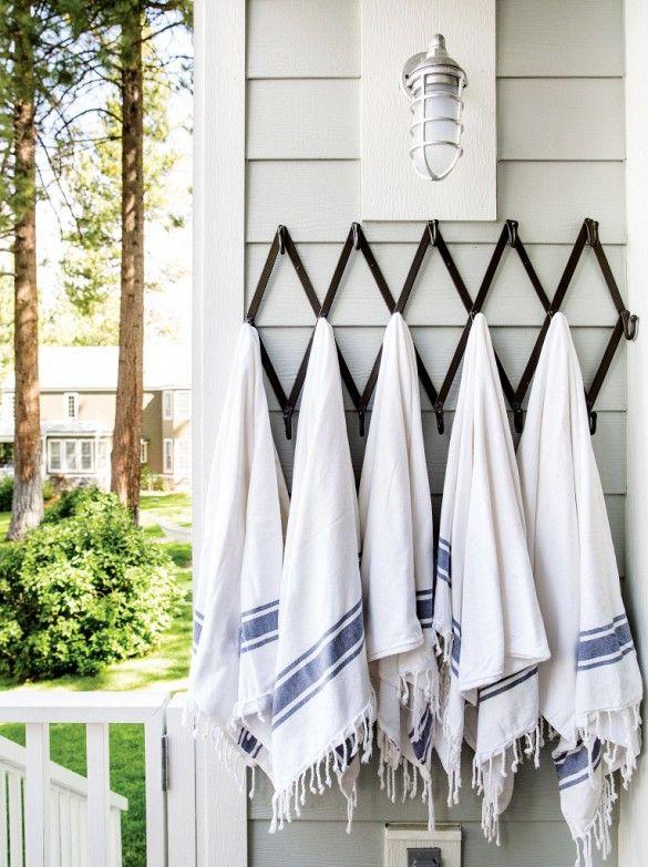 escape to the peaceful tahoe retreat of designer jenni kayne turkish towelskid - Turkish Towels