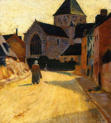 Paul Sérusier (1864-1927) Woman in a Street - 1891