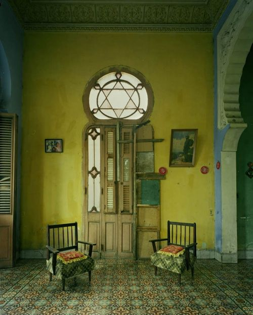 Cuba - just like the casa I stayed in in Havana.